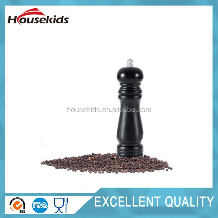 Hot Selling Home Kitchen Classical Wooden Black Pepper Spice Salt Mill Grinder