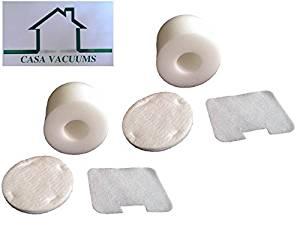 2 Foam & Felt Filter Kits for Shark Navigator UV402 & UV410 Series, NV36A, NV36, NV44, NV46C, NV46, NV42 Vacuum Part# Xff36