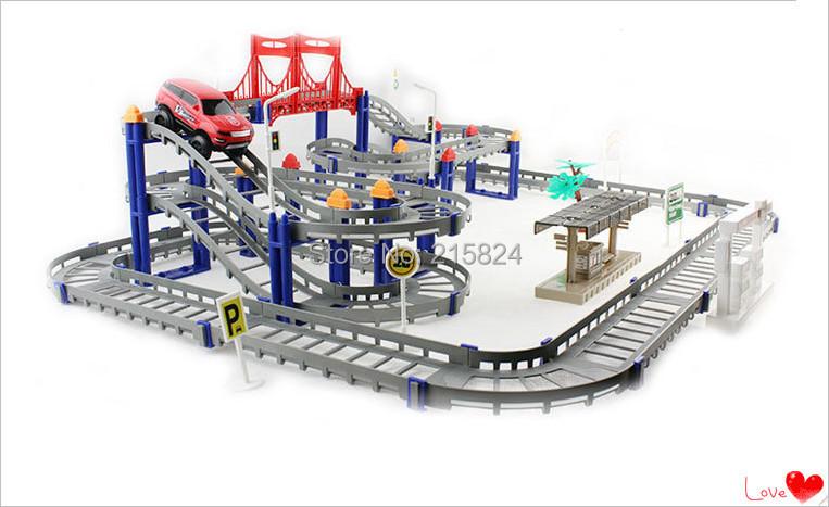 Electronic Plastic Orbit Model Racing Car Track Train Toys Mini