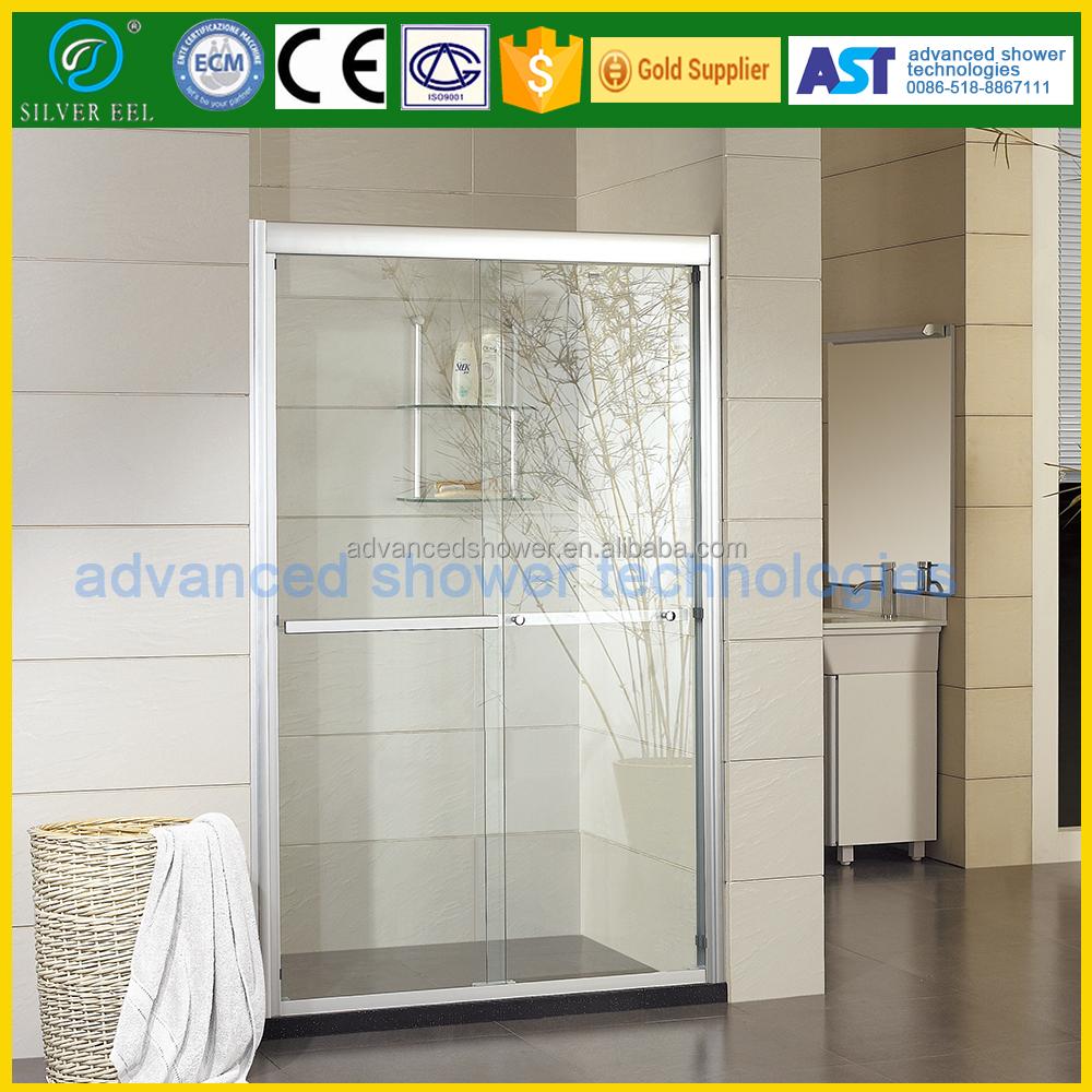 Ce Certified Alluminum Sliding Bathroom Partition Door Design Ast