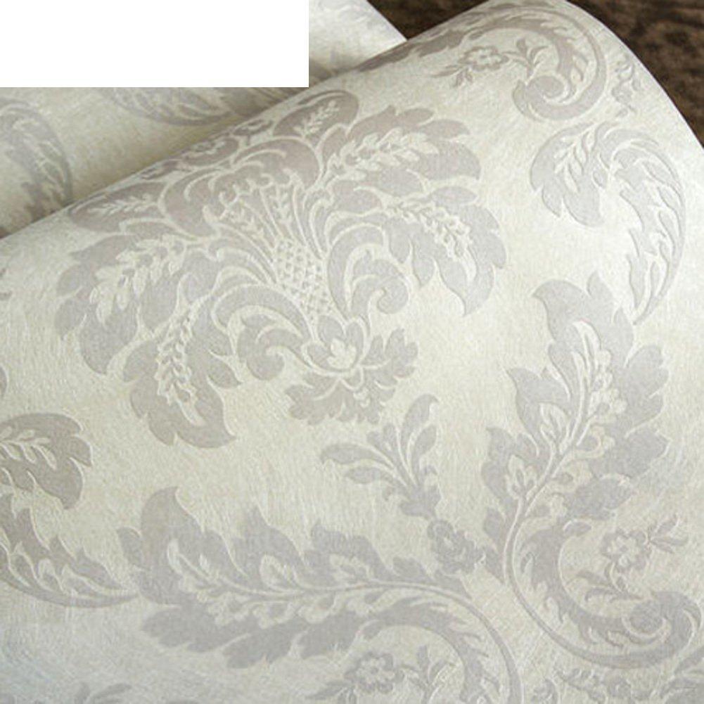 DXG&FX European-style bedroom wallpaper Silk living room background wall-paper non-woven wallpaper-K