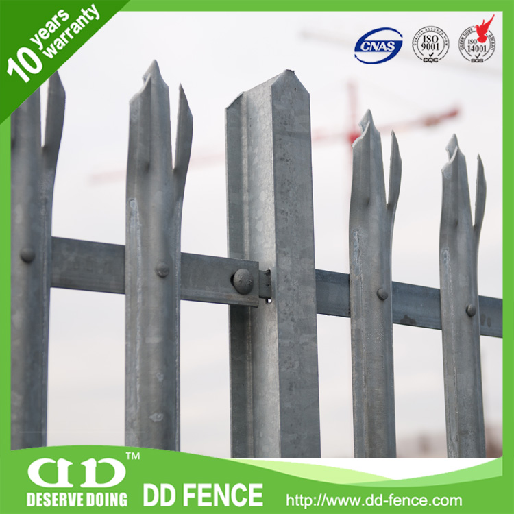 2016 Hot sale Palisade Fencing Designs/ Gauteng /Prices