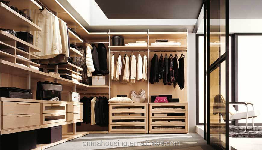 Bedroom Closet Wood Wardrobe, Plywood Cabinets Wall Almirah Designs From  PRIMA