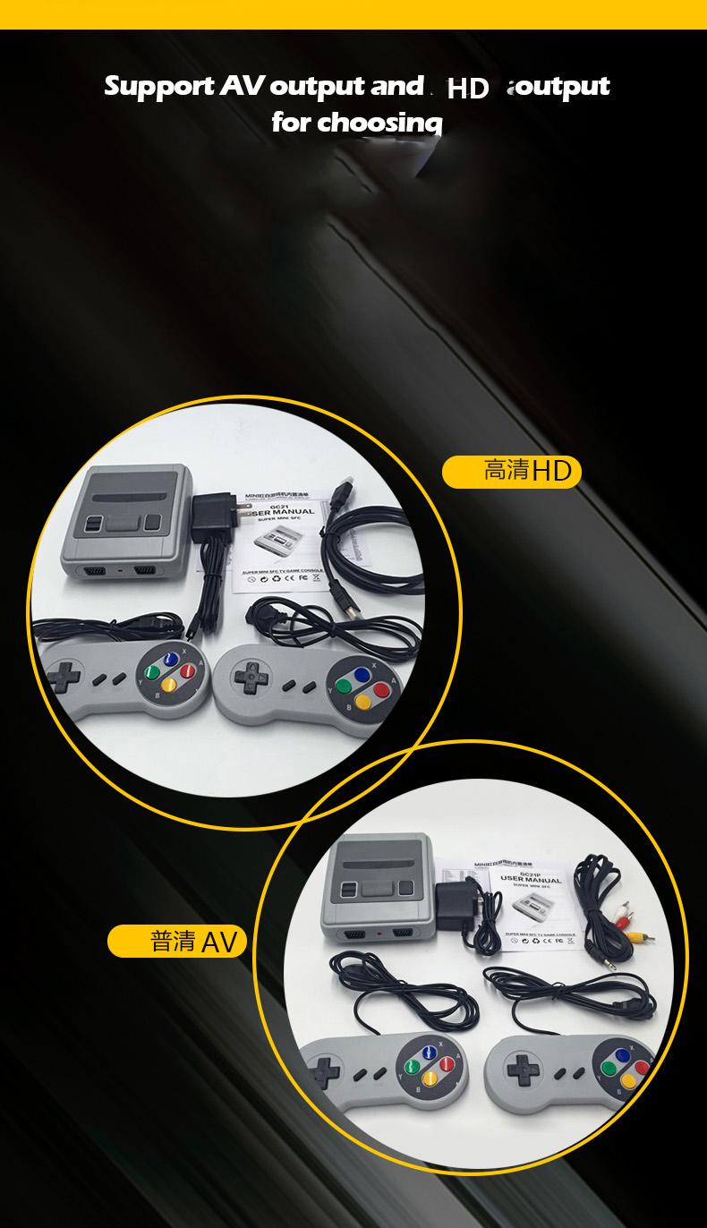 621 OEM रेट्रो हाथ में खेल सांत्वना मिनी क्लासिक पोर्टेबल टीवी वीडियो प्लेयर गेम कंसोल