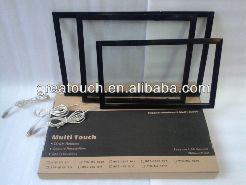 19 Inch Infrared Multi Touch Screen Overlay
