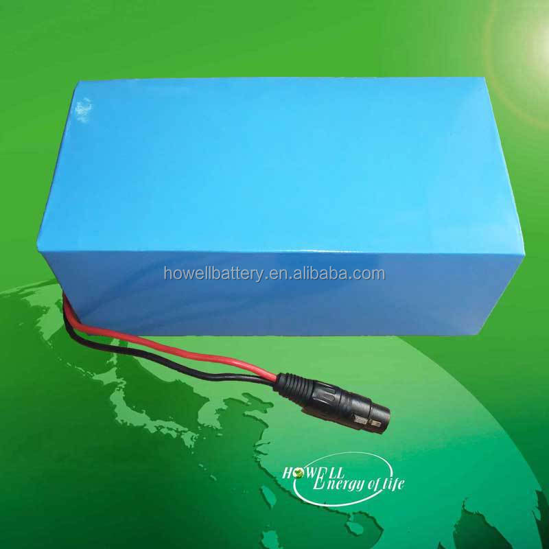 Customized battery lithium ion 24v 15ah batery pack for e-bike solar system