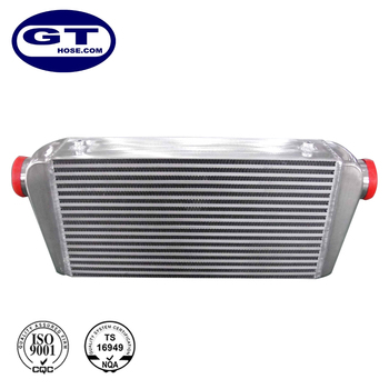 600X300X100mm Silver and Polished Aluminium Universal Intercooler for Engine Cooling System