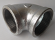 galvanized malleable cast iron pipe fittings 90degree BS STANDARD pipe fitting elbow