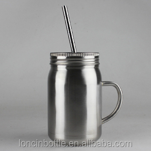 aa41cab4aa9 mason jar with stainless steel straw, mason jar with stainless steel straw  Suppliers and Manufacturers at Alibaba.com