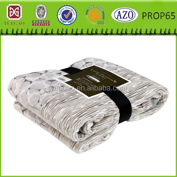 luxury collection new design king size coral fleece blanket