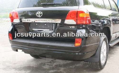 PP gray primer 2012 up LC200 rear bumper lip for Toyota Land Cruiser 200 rear diffuser auto rear skirts