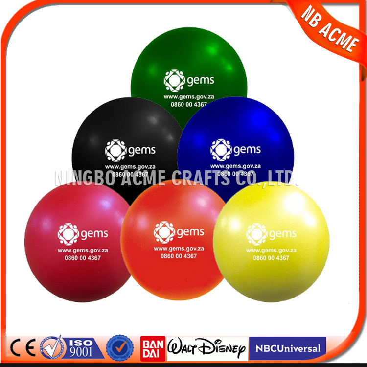 New products 2015 innovative product pu foam ball , pu stress ball / PU ball
