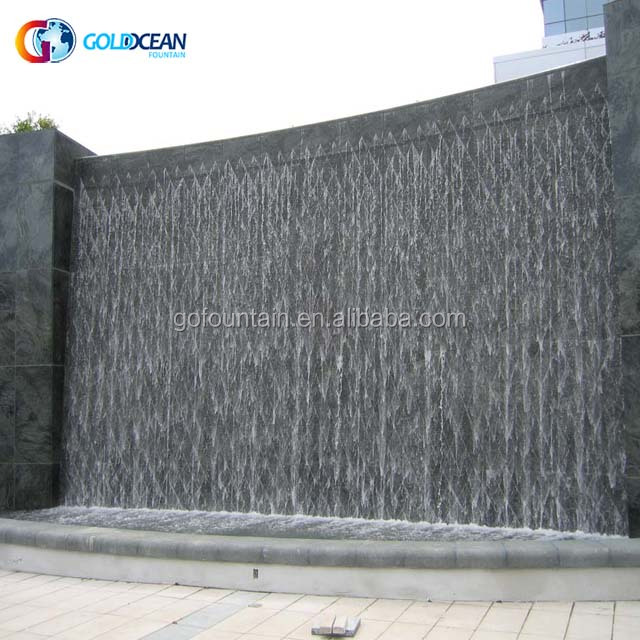 Outdoor Decoratieve Kunstmatige Water Waterval