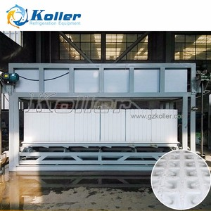 Koller 10 ton/day Automatic Direct Cooling Ice Block Machine / Plant