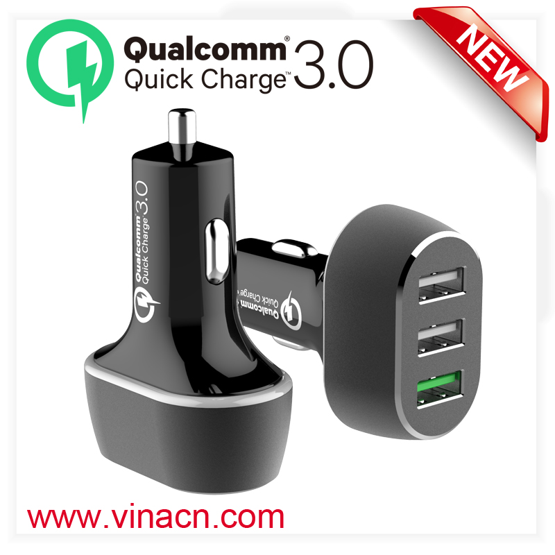 high capacity cell phone QC 3.0 charging QC 3.0 phone battery charger 5 usb travel charger QC3.0