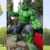 China Suppliers Wholesale New Product Fiberglass Movie Action Figure Hulk Statues