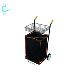 Garden tool cart,Leather-cloth tool trolley