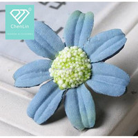 fabric handmade craft Flower Diy Accessory Sew On Appliques decorative