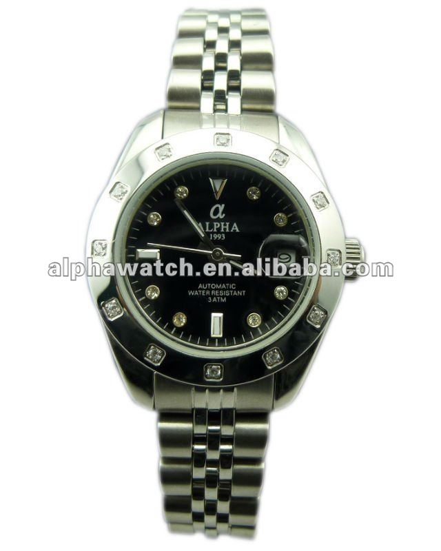 Diamante automatic lady watch