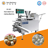 High efficiency double hopper steamed stuffed bun moulding machine with cheap price