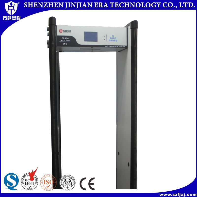 Access control sensor flap turnstile metal detectors walk through gate
