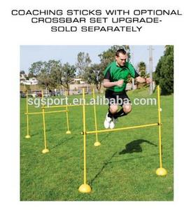 Agility Pole Hurdle Training Set for Lacrosse Indoor Outdoor Speed Soccer Football Equipment