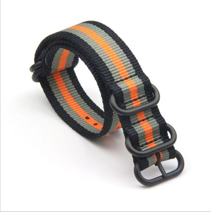 Fabric watch strap 16mm, 18mm, 20mm, 22mm, 24mm ready for delivery in 3 days