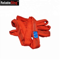 Crane Equipment Lifting Rigging Endless Type Polyester Color Code Pipe Lifting Sling