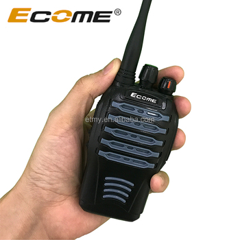Waterproof Tow Way Radio Ecome ET528 Ip66 Walkie Talkie Three Color For Your Choose
