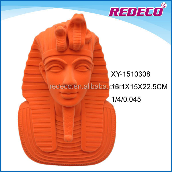 Resin egypt pharaoh king sculpture