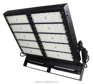 ip66 outdoor lighting stadium and soccer field 150lm/w 1000 watt led flood light