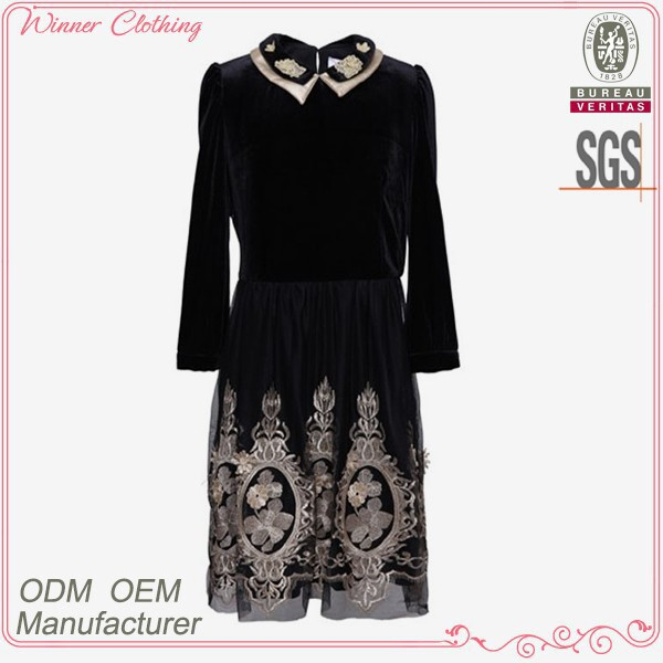 high quality women's clothing garment apparel direct factory OEM/ODM manufacturing mature traditional chinese dress for girls