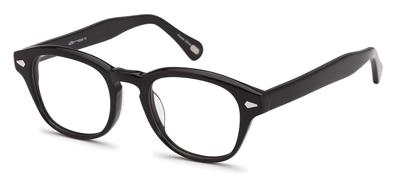 b9e31a90e75 Get Quotations · Trendy Oval Glasses Frames Prescription Eyeglasses Rxable  47-21-140