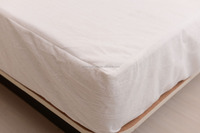 Zippered 100% Polyester Jersey Bed bug Proof Mattress Cover