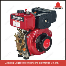 Lingben China Zhejiang diesel engine for sale single cylinder 4 stroke air cooled LB178F