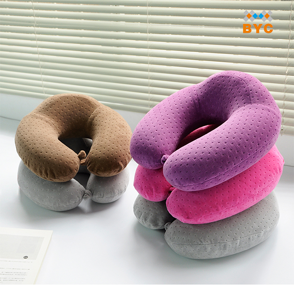 BYC Wholesale Soft Neck Support Travelrest High Density The Ultimate Travel Pillow