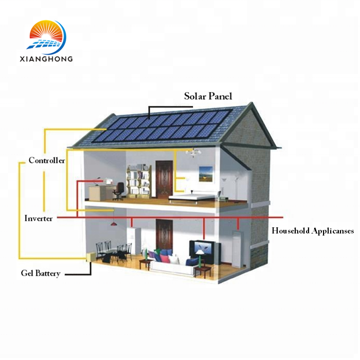China professionelle PV lieferant off grid 5kw 10kw 20kw 30kw solar power system hause