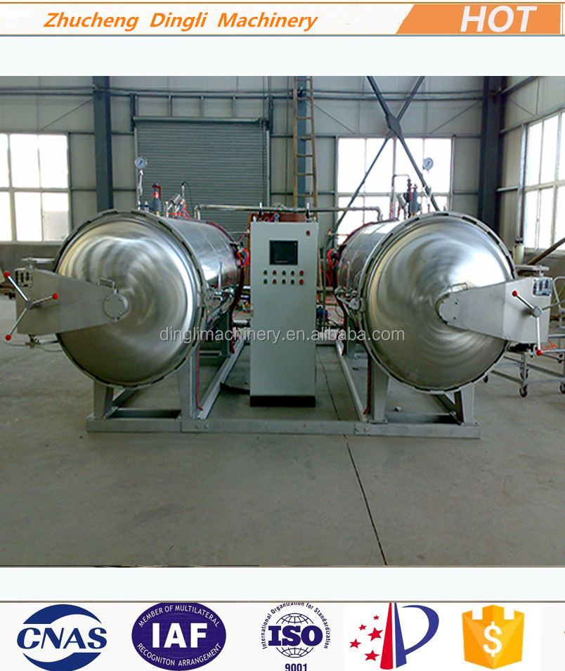 DL food processing autoclave