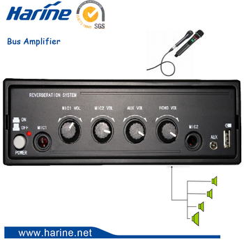 Vehicle Mounted Amplifier 24v Voltage Mini Car Stereo Amplifier