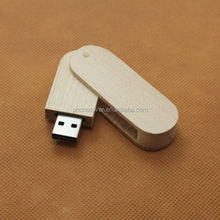 OEM low price naturalwooden usb flash sticks Customed logo usb pen drive