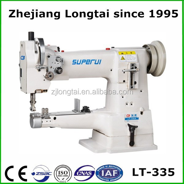 LT-335 used leather bag sewing machine with motor