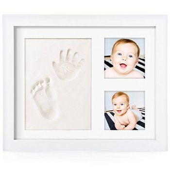 Newborn Clay 12 Month Baby Foot Print Photo Frame - Buy 12 Months ...