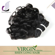 Double drawn full cuticle brazilian hair remy loose curl weave,aaaaaa quality remy hair extension
