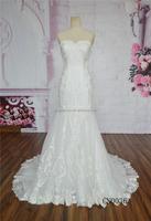 Mermaid lace alibaba wedding dress2016