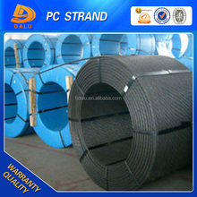 Steel reinforcement of pre-stressed concrete constructions used LRPC strand