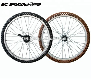 bicycle wheels 20 inch airless rim wheel for 3 wheel bicycle