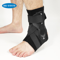 Ankle Brace Rigid Ankle Stabilizer for Protection & Sprain Support for sports, basket ball, football