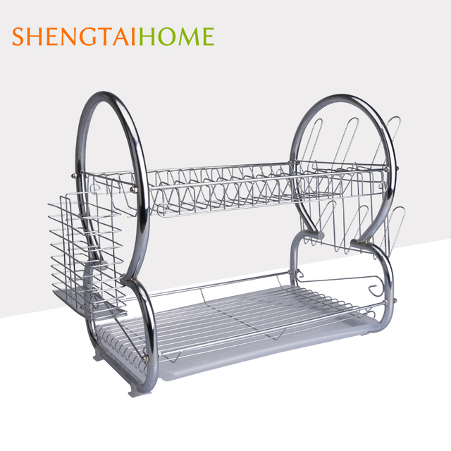 2-Tier Stainless Steel Kitchen Plate Rack With Drying Function  sc 1 st  Alibaba & Buy Cheap China steel plate racks Products Find China steel plate ...