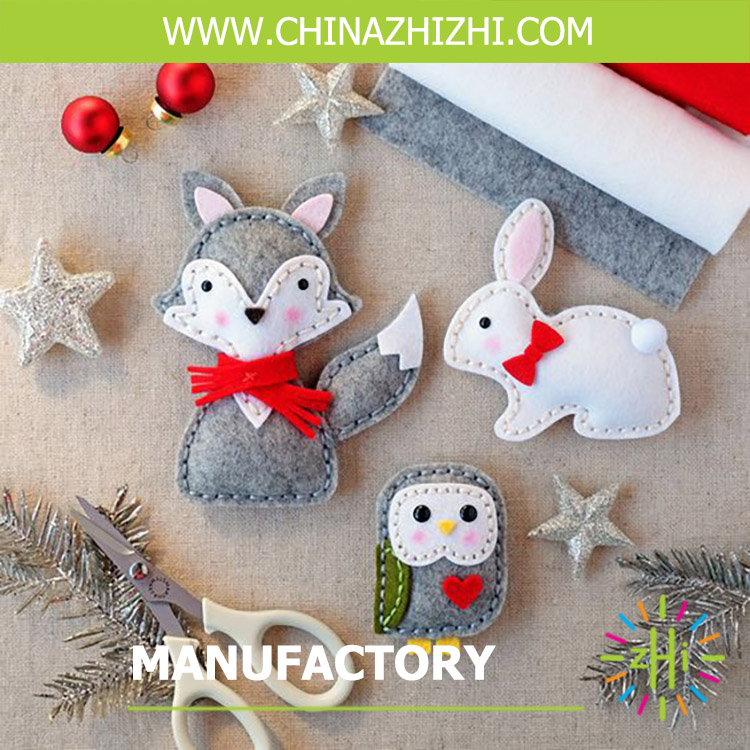 hot sale handmade forest animal toys made in china