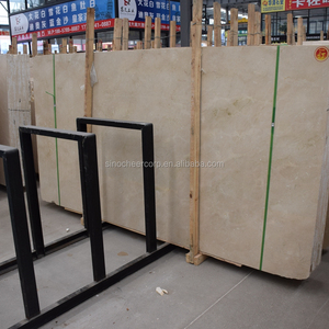 Factory Direct Sale First quality natural new crema marfil marble slab price